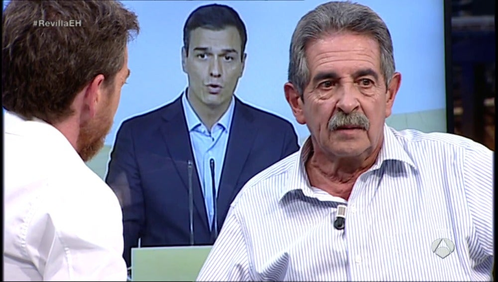 "Frame 24.29588 de: Revilla: ""Anoche hablé con Pedro Sánchez y le dije ""se fuerte, Pedro"""""
