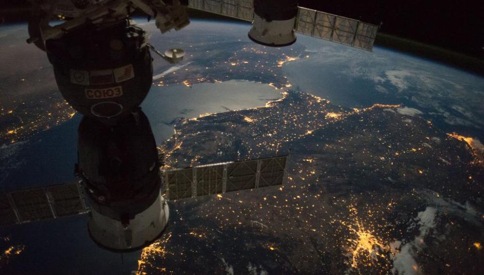 Imagen de España desde el espacio
