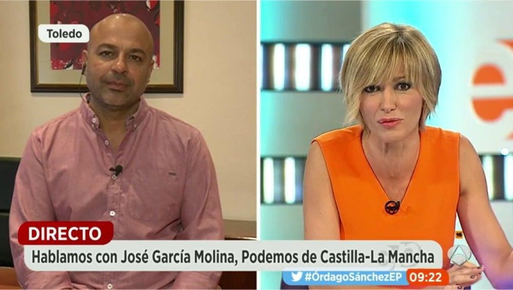 """Frame 14.797603 de: García Molina: """"Los incumplimientos de los acuerdos de las Cortes y del legislativo nos han llevado a esta situación"""""""