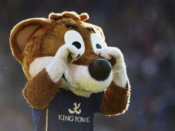 La mascota del Leicester no podrá acompañar a su equipo en Champions