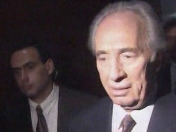 Frame 3.488922 de: Muere Simón Peres, expresidente israelí y Premio Nobel de la Paz, a los 93 años