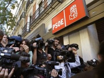 Sede del PSOE en la calle Ferraz