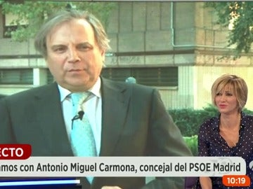 "Frame 13.610737 de: Carmona: ""El partido estaba verdaderamente deshecho y se ha optado por asumir responsabilidades"""