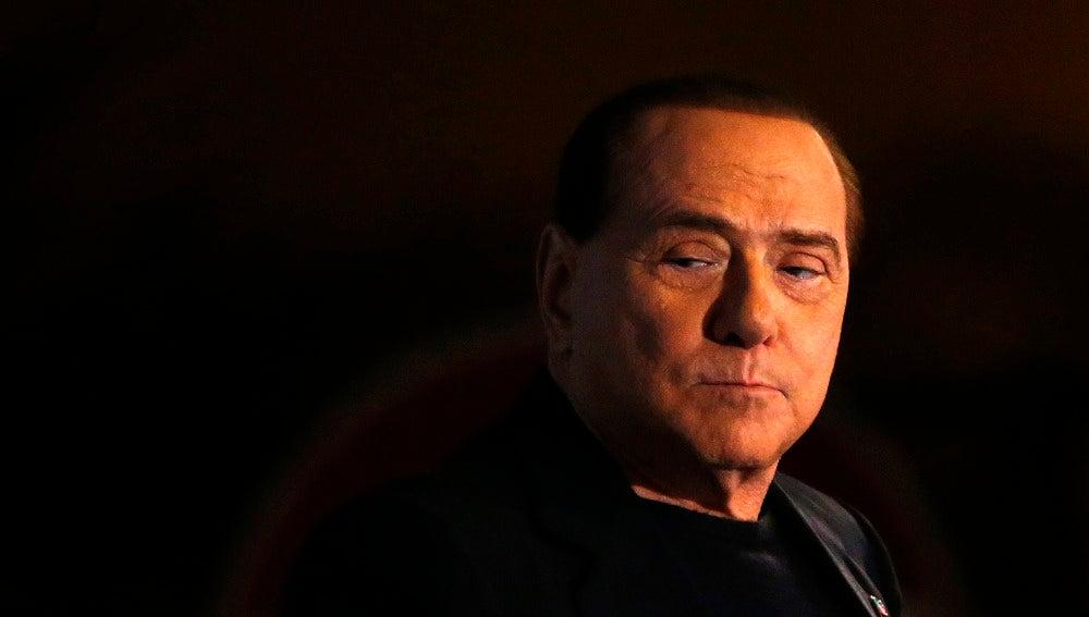 El exprimer ministro italiano Silvio Berlusconi