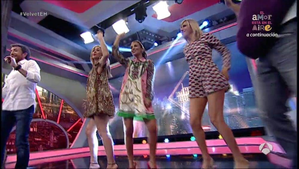 Frame 18.252141 de: Las chicas 'Velvet' se marcan un baile sexy en 'El Hormiguero'