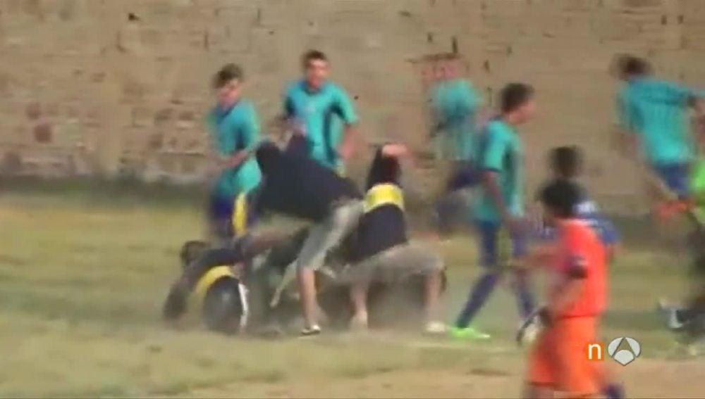 Paliza a un árbitro en Argentina