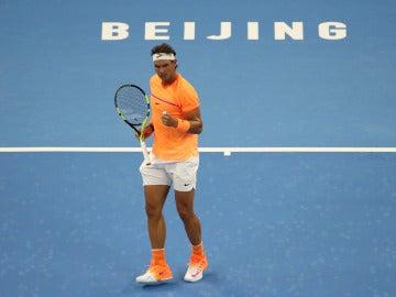 Rafa Nadal, debuta con victoria en el Open de China