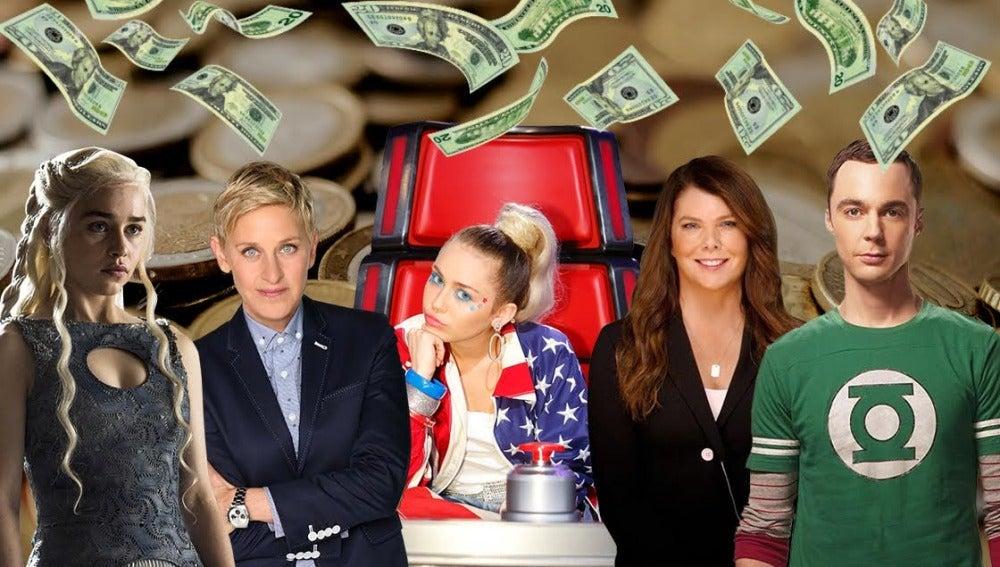 Estrellas de la TV en EEUU
