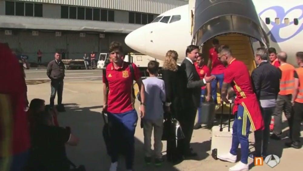 La Selección española ya está en Turín