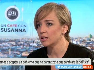 """Frame 537.613692 de: Tania Sánchez sobre la posible abstención del país: """"sería un drama para el país"""""""