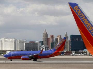 Avión de Southwest Airlines