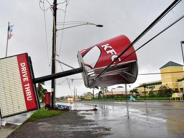 Efectos del huracán Matthew a su paso por Bahamas