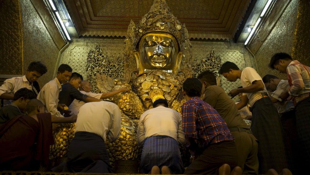 Budismo en Birmania