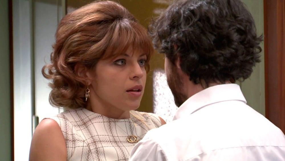 Nuria le pone freno a un acercamiento amoroso con Jaime