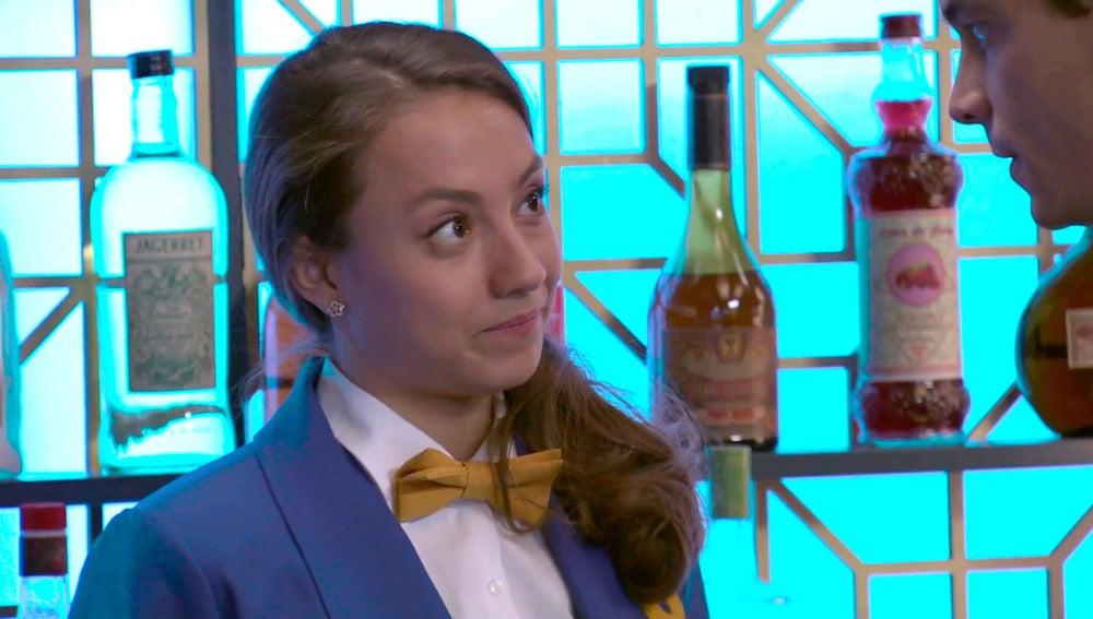 Alba, ajena a los sentimientos de Rafael hacia Marta