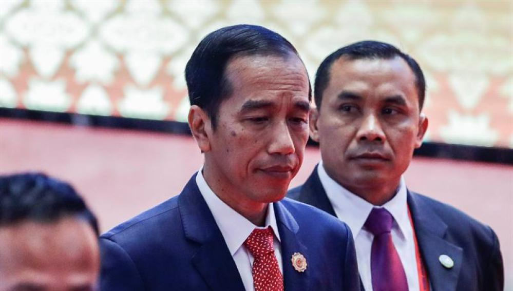 El presidente de Indonesia, Joko Widodo