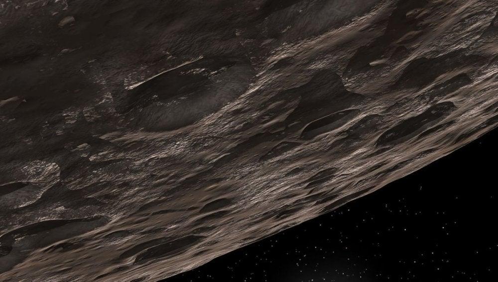 Imagen del nuevo planeta enano