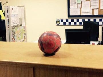 Balón incautado por el alcalde de Albox