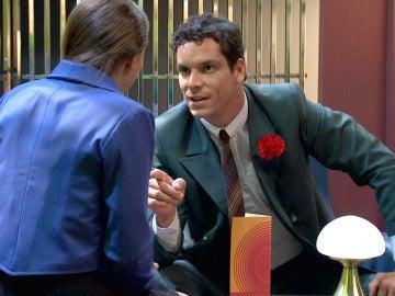 Rafael se enfada con Alba al descubrir que le ha mentido