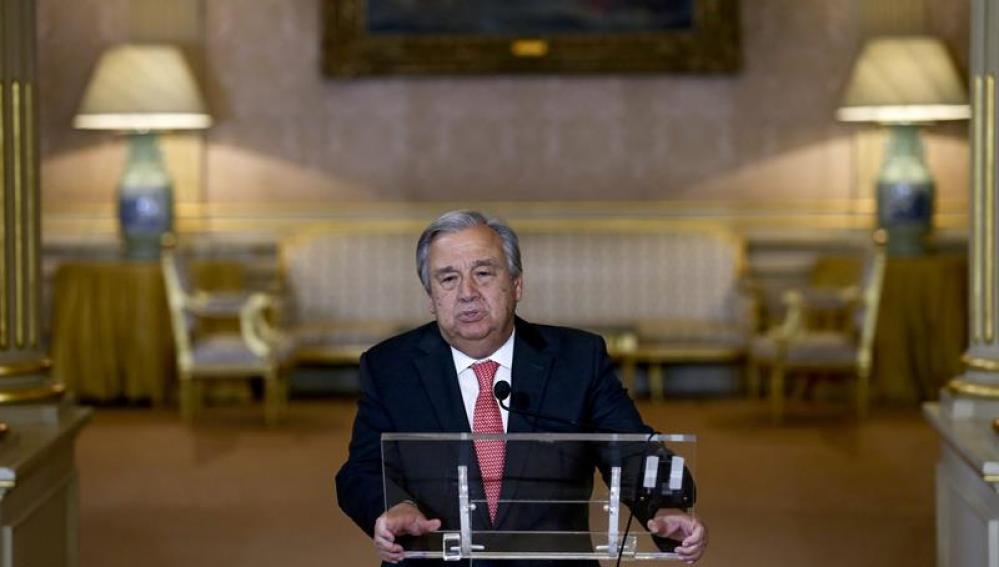 Antonio Guterres, nuevo secretario general de la ONU