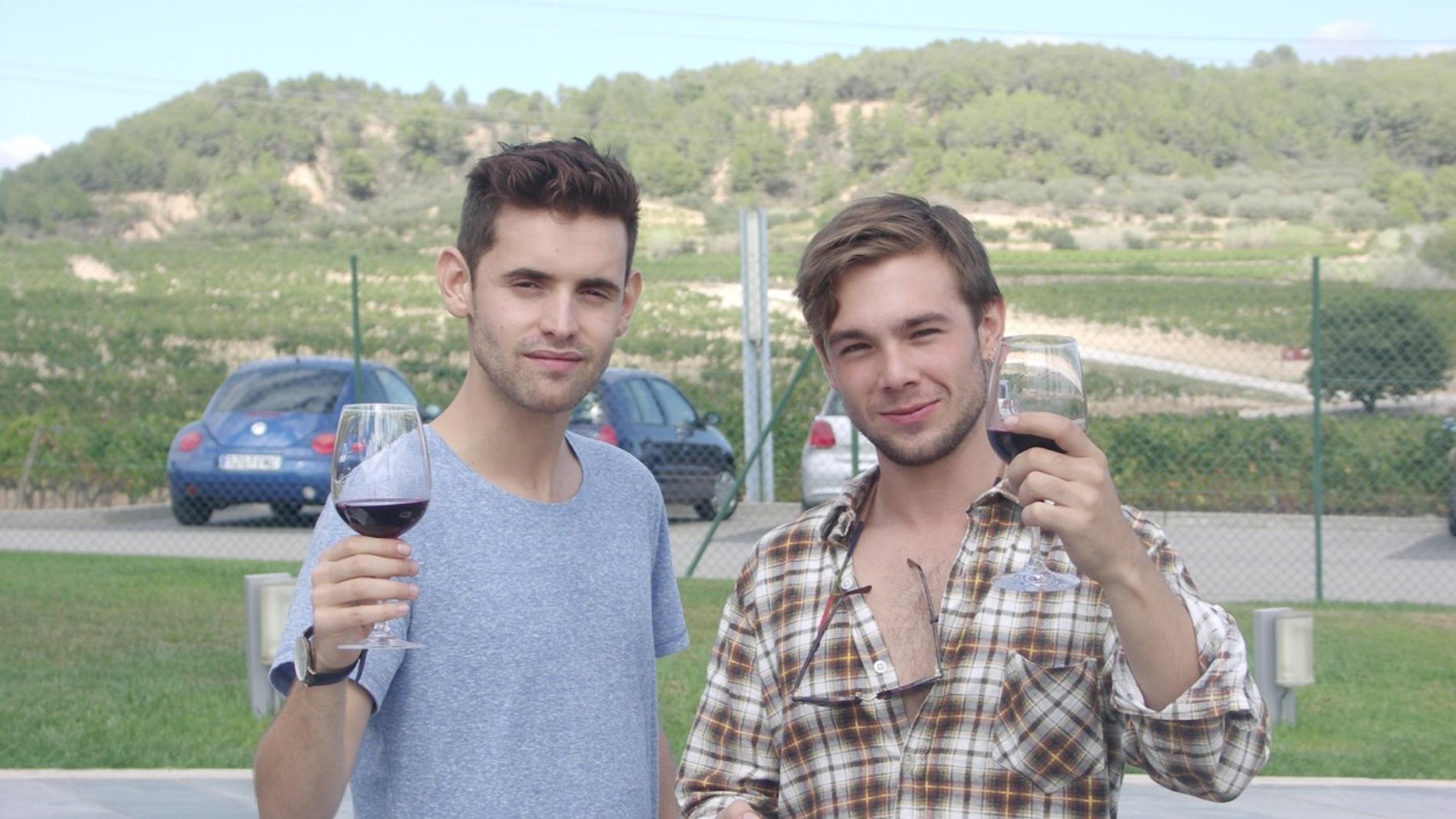 Iñaki Mur (izquierda) y Carlos Cuevas