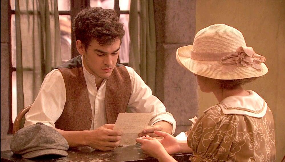 Matías recibe una carta de Madrid con un remitente muy cercano