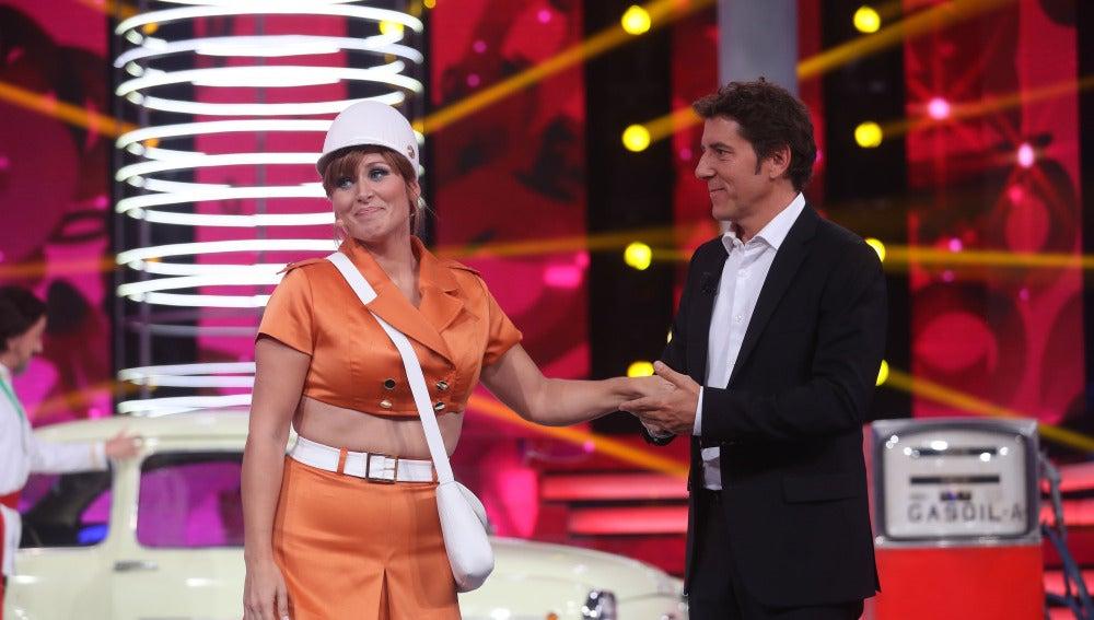 Valoración de Rosa López en la segunda gala de 'Tu cara me suena'