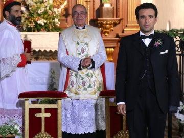 Carmelo espera a Mencía en el altar