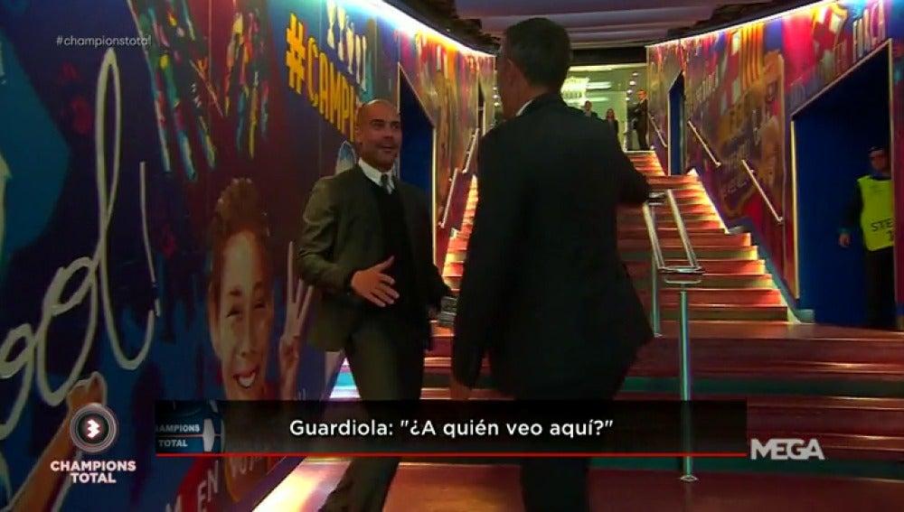 Frame 0.863939 de: Guardiola vivió intensamente su vuelta al Camp Nou