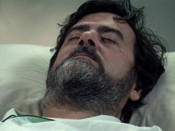 Camilo, en coma, se emociona con la carta de Benito