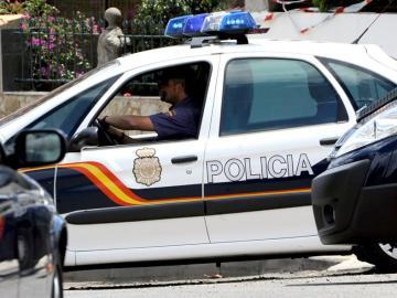 Imagen de un vehículo de la Policía Nacional