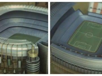 El Bernabéu y el Calderón parte de la recreación de la cabecera de Juego de Tronos