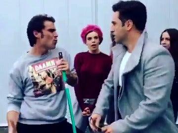 David Benavente y Gonzalo se enzarzan en una pelea