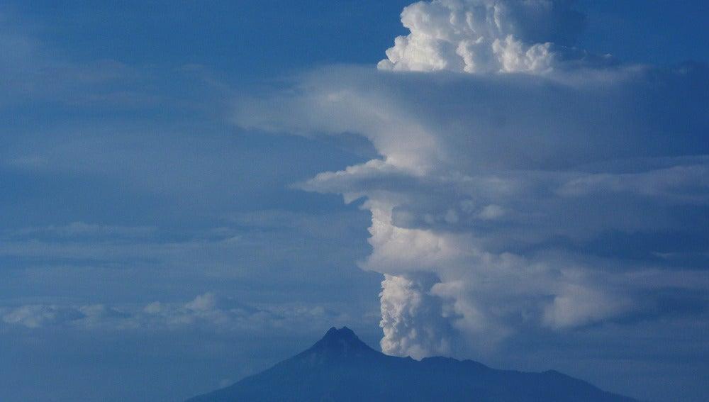 Volcán Colima en México