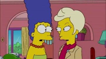 Marge Simpson se besa con una mujer, ¿crisis a la vista con Homer?