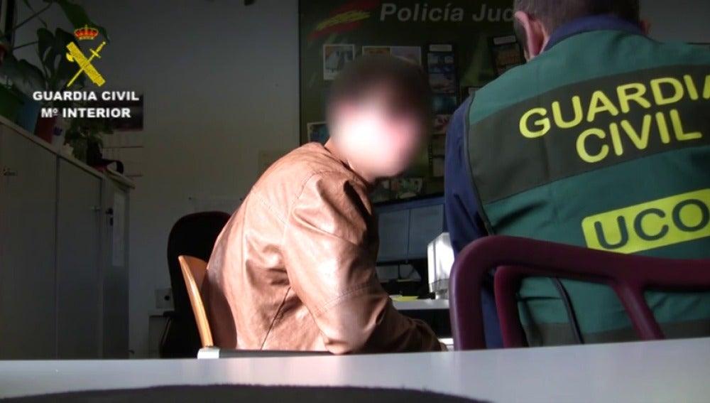 Frame 21.077433 de: El presunto asesino de Pioz será trasladado a Guadalajara tras ser legalizada su situación procesal