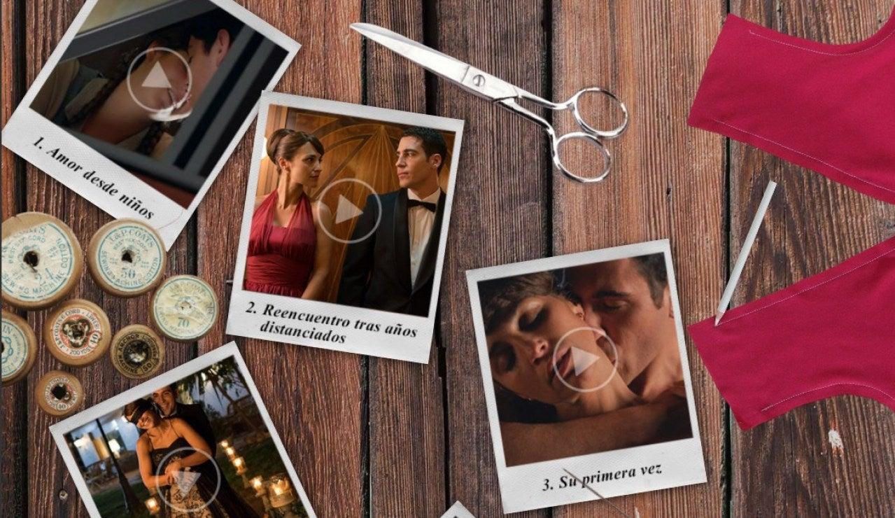 Los momentos clave de la historia de amor de Ana y Alberto en 'Velvet'