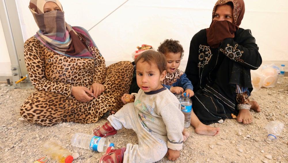 Víctimas de la batalla de Mosul