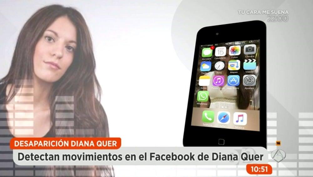 Antena 3 tv detectan movimientos en el perfil de for Espejo publico diana quer