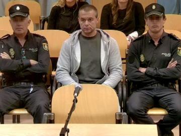 Antonio Ortiz, el presunto pederasta de Ciudad Lineal, durante el juicio