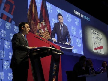 Josep María Bartomeu, presidente del F.C Barcelona