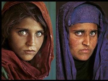 La niña afgana de National Geographic
