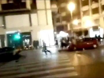 Pánico en pleno centro de Valencia por la noche tras gritos que alertaban de payasos diabólicos