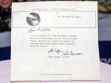 La carta de John Lennon