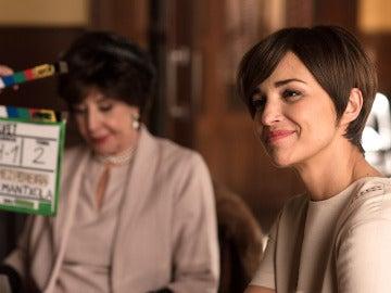 Paula Echevarría y Concha Velasco preparadas para grabar