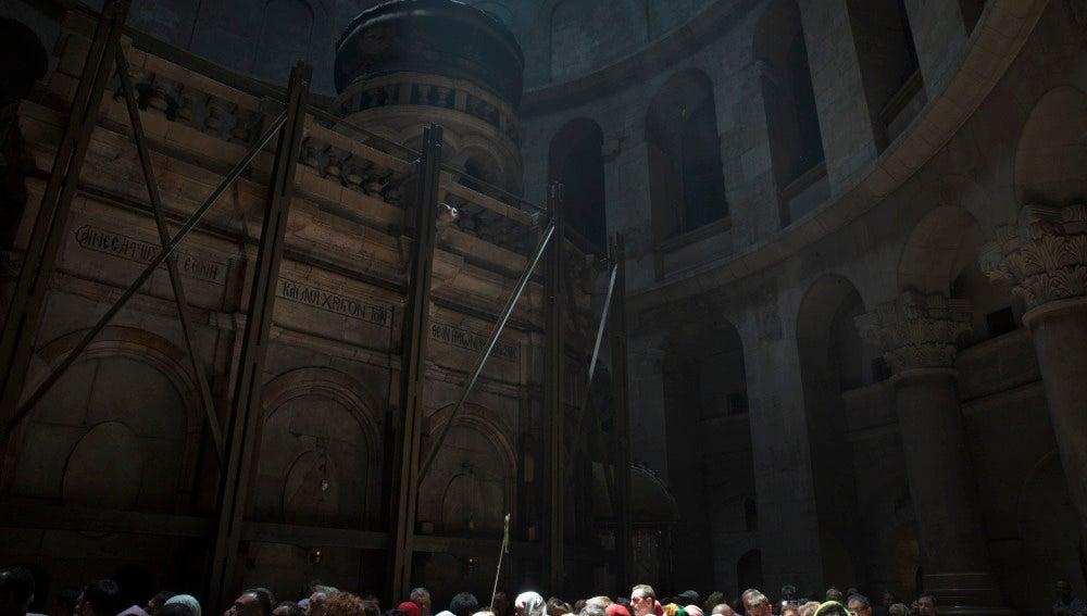 Iglesia donde está enterrado Jesús