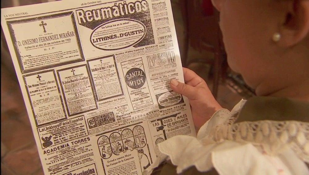 Onésimo es dado por muerto en el periódico
