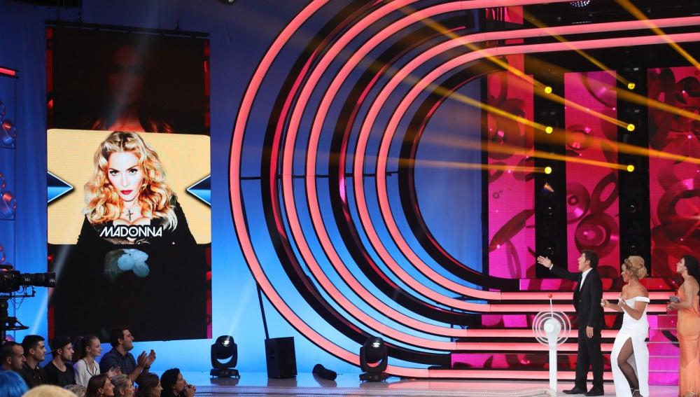 Rosa López se convertirá en Madonna en la quinta gala de 'Tu cara me suena'