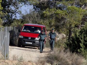Lugar en el que encontraron el cadáver de la joven desaparecida