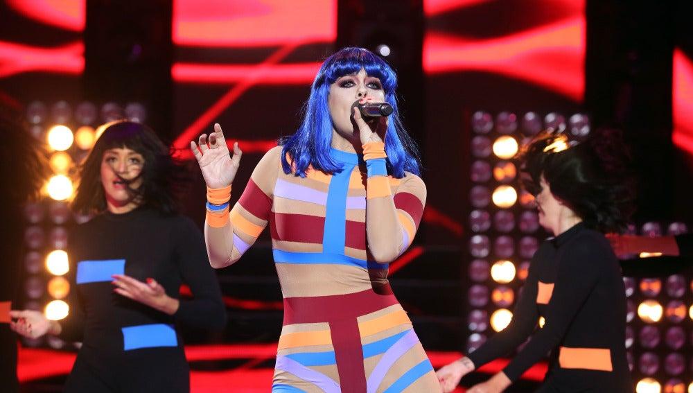Lorena Gómez demuestra sensualidad pura con 'Domino' de Jessie J